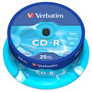 CD-R VERBATIM DTL 700MB 52X 25ks/cake