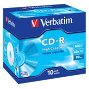 CD-R VERBATIM DTL 800MB 40X 10ks/bal.