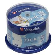 CD-R VERBATIM DTL+ Wide Printable non-ID 700MB 52X 50ks/cake*AZO