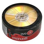 DVD-R MAXELL 4,7GB 16X 25ks/spindel
