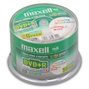 DVD+R MAXELL Printable 4,7GB 16X 50ks/cake