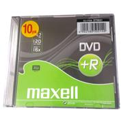 DVD+R MAXELL 4,7GB 16X Slim box 10ks