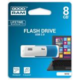 8 GB .  USB kľúč . GOODDRIVE COLOUR MIX Modro-biela