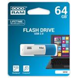 64 GB .     USB kľúč . GOODDRIVE COLOUR MIX Modro-biela