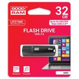 32 GB .    USB 3.0 kľúč . GOODDRIVE MIMIC, čierna