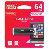 64 GB .     USB 3.0 kľúč . GOODDRIVE MIMIC Čierna